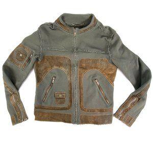 Dolce & Gabbana Mens Mesh Jacket